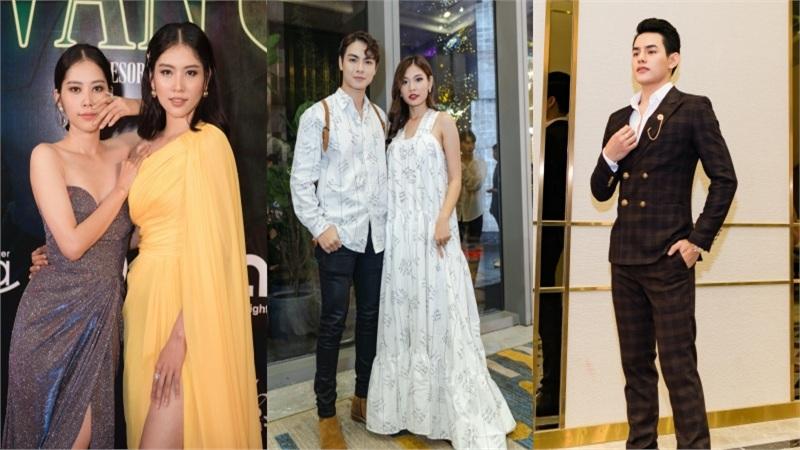Nam Anh - Nam Em diện đầm xẻ khoe chân dài, vợ chồng Jay Quân - Chúng Huyền Thanh 'tình bể bình' diện đồ đôi đi xem show