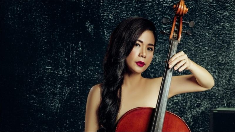 Mỹ Lệ chụp ảnh nude bên cây đàn cello ở ngưỡng U50, chuẩn bị trở lại showbiz