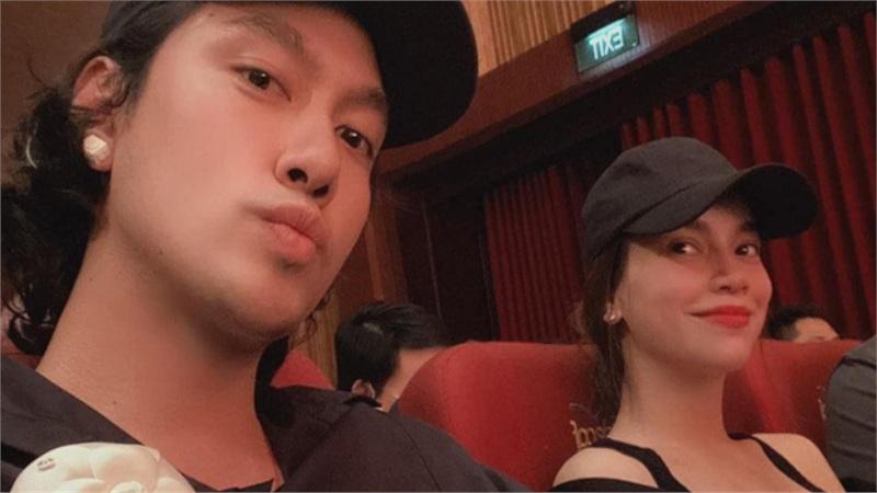 Bạn thân khoe ảnh đi xem phim cùng Hồ Ngọc Hà, nhan sắc đời thường của bà bầu gây chú ý