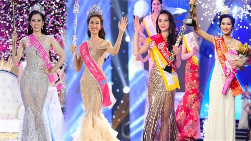 Muốn kế nhiệm Tiểu Vy, đây là kiểu đầm dạ hội nên mặc và nên tránh ở Hoa hậu Việt Nam