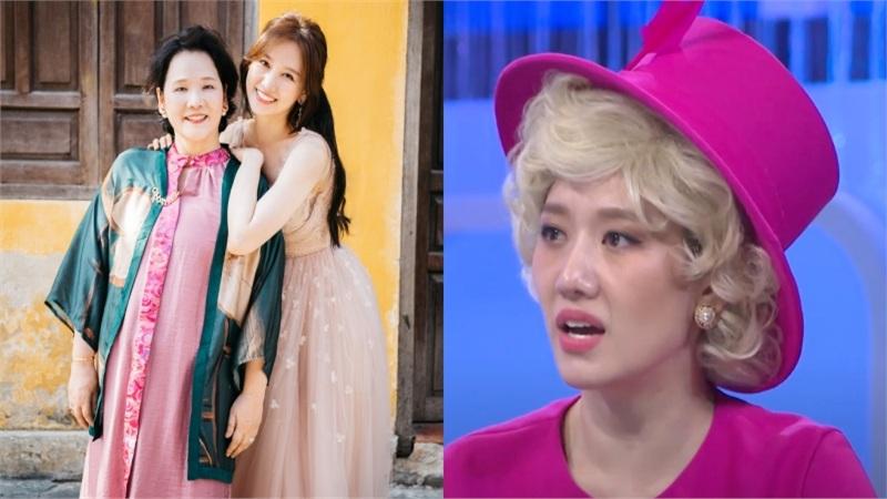 Hari Won không cho mẹ chia tài sản cho ai, bà cũng từ chối không trông con giùm