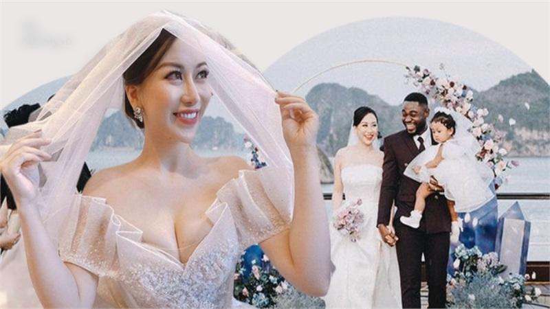 Chuyện 'đám cưới 3 người' của cô dâu Việt và chú rể Nigeria: 'Nhìn thấy tôi lộng lẫy là thế... mà lạ thay anh chẳng khóc phát nào'