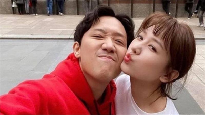 Hari Won 'phàn nàn' vì Trấn Thành thường xuyên rủ hội bạn thân đi du lịch chung, ít khi đi chơi riêng vợ chồng