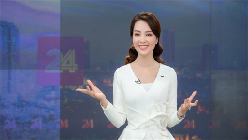 Á hậu Thụy Vân lên sóng, 'đập tan' tin đồn nghỉ việc ở VTV