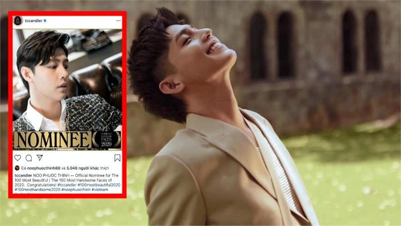 Noo Phước Thịnh bất ngờ lọt đề cử Top 100 gương mặt đẹp nhất thế giới, so kè bên dàn sao đình đám