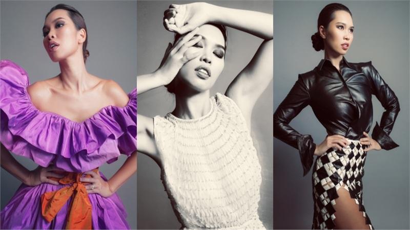 Không cần mặc bikini, siêu mẫu Hà Anh vẫn phong thái ngời ngời