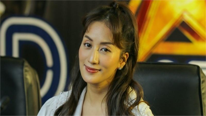 Lần đầu ngồi 'ghế nóng' trong gameshow đi tìm tài năng DJ, 'nữ hoàng dancesport' Khánh Thi nói gì?