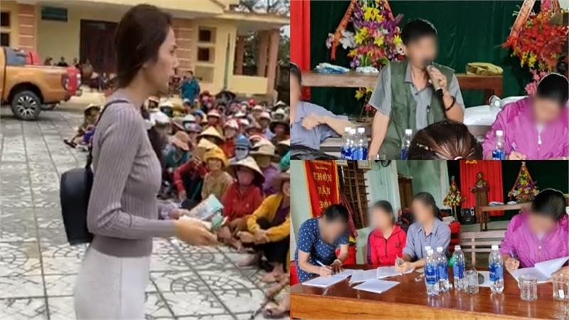 Vụ cán bộ thôn thu tiền Thủy Tiên phát cho người dân: Trả lại 69 suất, thừa nhận còn 5 nguồn thu khác