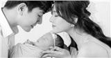 Vợ chồng Thu Thủy khoe ảnh đầy tháng con gái cưng Lana