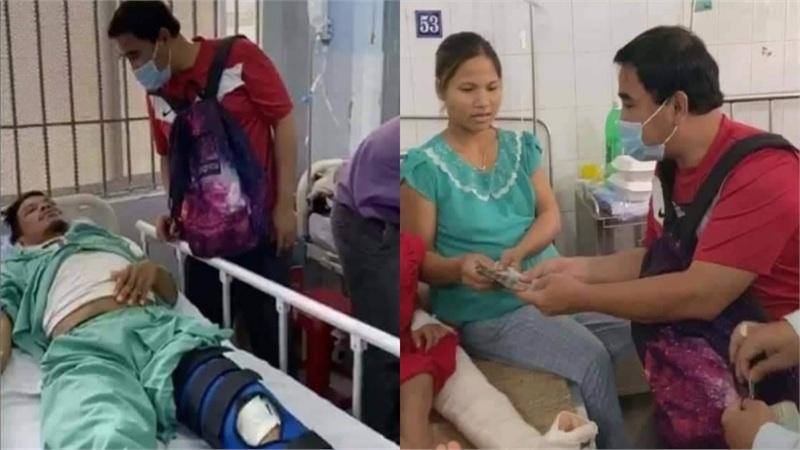 MC Quyền Linh tặng từ 20 - 50 triệu đồng cho gia đình các nạn nhân vụ sạt lở ở Trà Leng