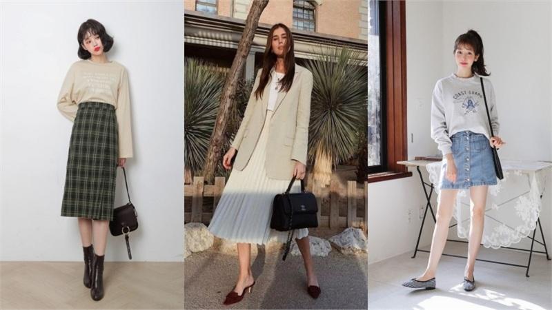 3 kiểu chân váy luôn 'được lòng' phái đẹp vào mùa thu đông, lại chẳng bao giờ sợ bị lỗi mốt