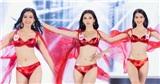Trình catwalk top 3 Hoa hậu Việt Nam 2020: Á hậu Ngọc Thảo xứng danh trò cưng Võ Hoàng Yến