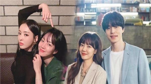 Lee Da Hee gửi quà ủng hộ 'chuyện tình yêu' của Im Soo Jung và Lee Dong Wook