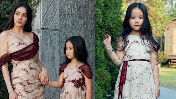Con gái là nguồn cảm hứng để Trang Nhung thiết kế BST thời trang dành cho mẹ và bé