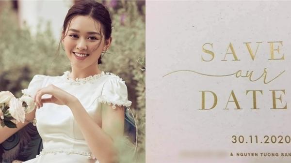 Rò rỉ hình ảnh thiệp cưới của Á hậu Tường San, sao lại đơn giản đến bất ngờ thế này?