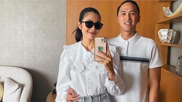 Sánh bước bên ông xã, Hà Tăng cứ lên đồ xuất sắc nhường này thì bảo sao Louis Nguyễn 'nghiện' vợ đến thế