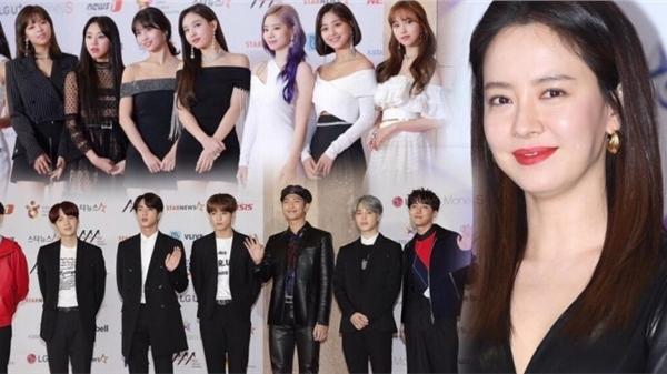 'AAA 2020': BTS, TWICE, Song Ji Hyo và Park Jin Young (Got7) thắng giải, 41 nghệ sĩ sẽ hội tụ đêm nay!