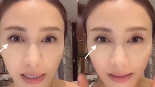 Bóc mẽ clip tẩy trang của 'đệ nhất mỹ nhân TVB' Lê Tư: Làm qua loa cho có, hay không dám lộ mặt mộc?