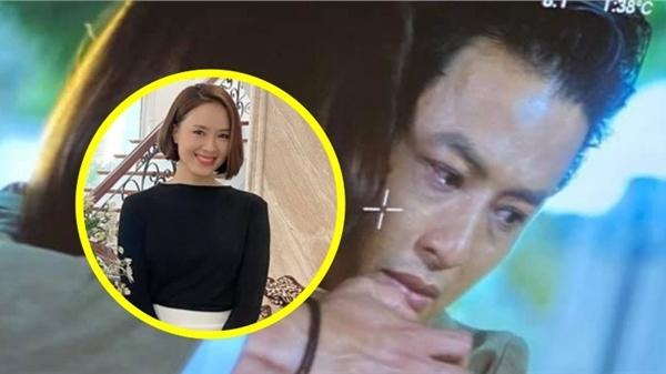 'Hướng dương ngược nắng': Hồng Đăng chia sẻ ảnh khóc nức nở khi ôm một cô gái, fan đoán ngay chính là Hồng Diễm