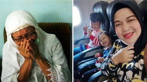 Vụ máy bay rơi ở Indonesia: Hành động bất thường của vợ cơ trưởng và bức ảnh cuối của 3 mẹ con hành khách trước khi lên chuyến bay định mệnh