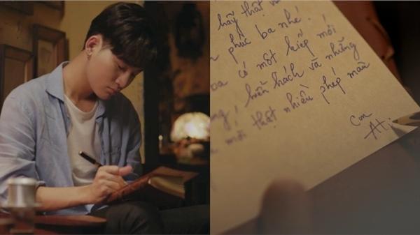 Ali Hoàng Dương viết thư tay gửi cha trong MV nhạc phim 'Bố Già' bản điện ảnh đầy xúc động