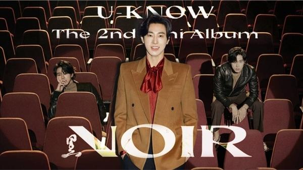 U-KNOW YUNHO tái xuất với 'NOIR' - Mini Album thứ 2: 'Đây là thời khắc định mệnh để trở lại'