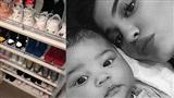 Choáng trước bộ sưu tập giày hàng hiệu của con gái Kylie Jenner