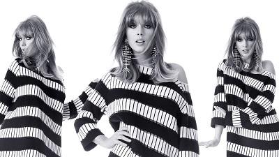 Taylor Swift xinh đẹp và cổ điển trên bìa tạp chí mới