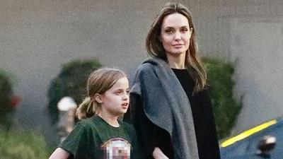 Chỉ một bức hình cũng cho thấy con gái Angelina Jolie càng lớn càng giống mẹ