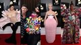 12 thảm họa thời trang trên thảm đỏ Grammy 2019