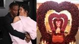 Chơi lớn như bạn trai Kylie Jenner, tặng cả vườn hồng nhân ngày lễ tình nhân