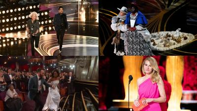 Nhìn lại 10 khoảnh khắc thú vị của lễ trao giải Oscar 2019