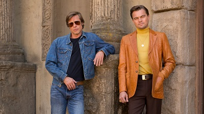 Phim mới của Leonardo DiCaprio và Brad Pitt tung poster khiến fan 'sốt xình xịch'