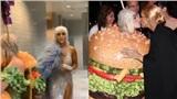 Jennifer Lopez hờ hững, Celine Dion 'phát sốt' trước váy hamburger của Katy Perry