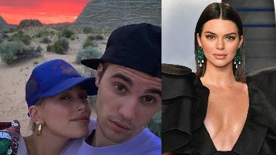 Justin Bieber vừa nói lời mùi mẫn với Hailey Baldwin trên Instagram, Kendall Jenner liền vào 'tranh phần'