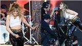 Miley Cyrus quay về hình tượng nổi loạn: Hôn camera, vũ đạo khiêu khích, liên tục chửi thề trên sân khấu