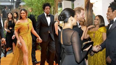 Beyoncé diện váy xẻ đùi táo bạo của Công Trí tới ra mắt The Lion King tại London, phản ứng bất ngờ khi gặp Công nương Anh