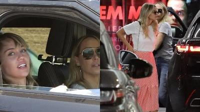 Bị gia đình phản đối, Miley Cyrus vẫn đưa Kaitlynn Carter về ra mắt mẹ
