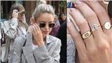 Bạn gái Miley Cyrus gián tiếp 'khẳng định chủ quyền' với chiếc nhẫn logo chữ M ở ngón áp út