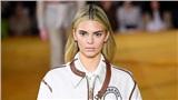 Kendall Jenner xuất hiện với mái tóc vàng lạ lẫm trên sàn diễn Burberry Xuân Hè 2020