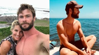 Vợ chồng Chris Hemsworth động viên Liam Hemsworth ở lại Úc để tránh xa thị phi Hollywood