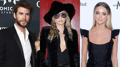 Chỉ bằng một bức hình chụp với cún cưng, Miley Cyrus đá đểu cả hai tình cũ: Liam Hemsworth và Kaitlynn Carter