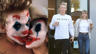 Miley Cyrus và bạn trai hóa trang thành Joker, khoe ảnh 'giường chiếu' trước thềm Halloween