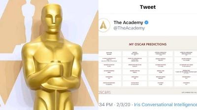 Đăng nhầm kết quả dự đoán giải Oscar rồi xóa vội, Viện Hàn lâm làm dấy lên nghi vấn rò rỉ thông tin