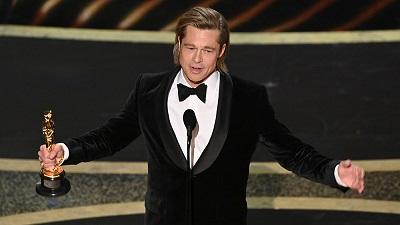 Brad Pitt đoạt giải Oscar diễn xuất đầu tiên trong sự nghiệp