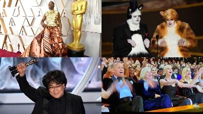 10 khoảnh khắc khó quên tại lễ trao giải Oscar 2020