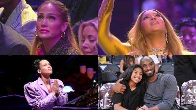 Dàn sao xúc động tại lễ tưởng nhớ cầu thủ bóng rổ Kobe Bryant: Beyoncé, JLo, Alicia Keys, Christina Aguilera,...
