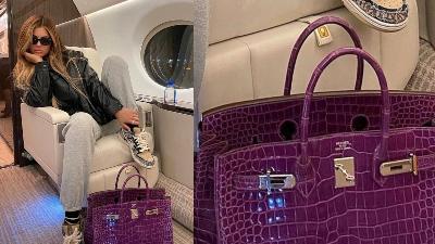 Kylie Jenner khoe khéo ăn diện 'sương sương' với túi Hermes gần 3,5 tỷ đồng