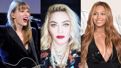 Taylor Swift, Beyoncé, Madonna lọt Top phụ nữ tiêu biểu 100 năm qua của tạp chí TIME