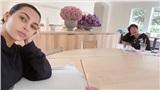 Ăn cơm phong cách mùa dịch nhà Kim Kardashian: Mẹ con cũng phải ngồi cách nhau 2 mét